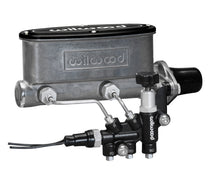 Load image into Gallery viewer, Wilwood HV Tandem M/C Kit w L/H Bracket & Prop Valve - 1 1/8in Bore