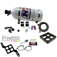 Load image into Gallery viewer, Nitrous Express Dominator Single Entry Crossbar Pro-Power Nitrous Kit (100-500HP) w/10lb Bottle