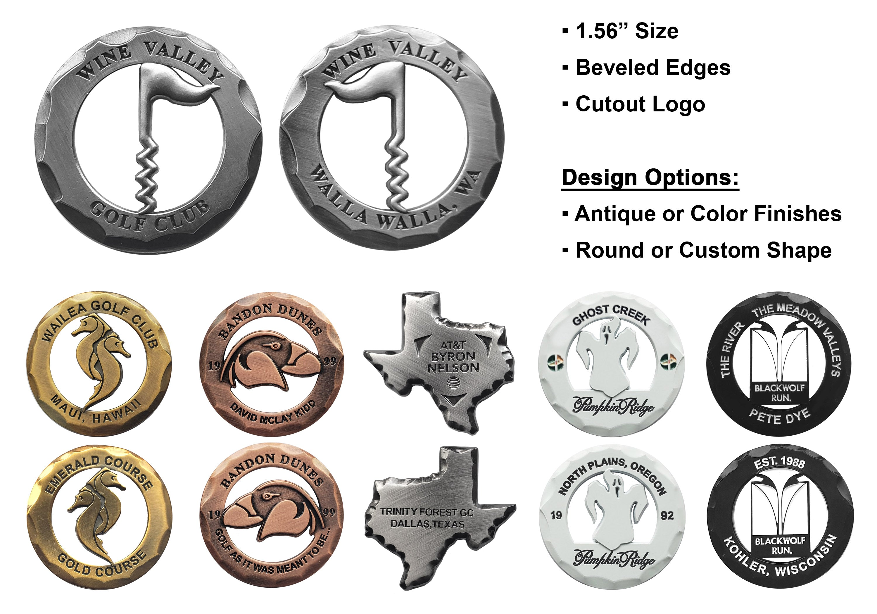 Rustic Coins, Ballmarkers