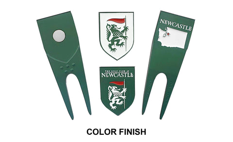 Color-Finish Custom Divot Repair Tools