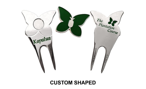 Custom Shaped Divot Repair Tools