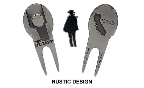 Rustic Design Custom Divot Repair Tools