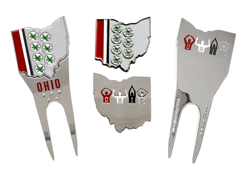 Ohio Theme Divot Repair Tool