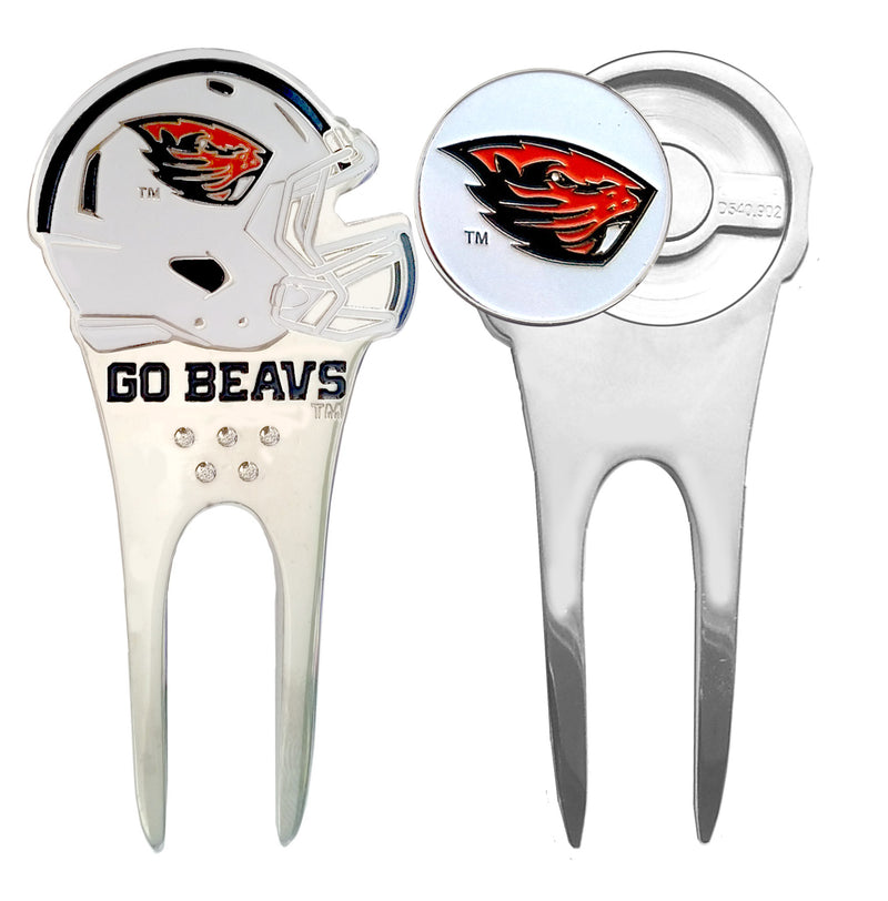 Oregon State Helmet Divot Repair Tool