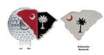 South Carolina Theme Hat Clip TEAM COLORS