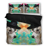Amazing Whippet Print Bedding Set