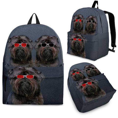 Affenpinscher Dog Print BackpackExpress Shipping