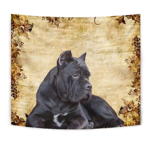 Cute Cane Corso Print Tapestry