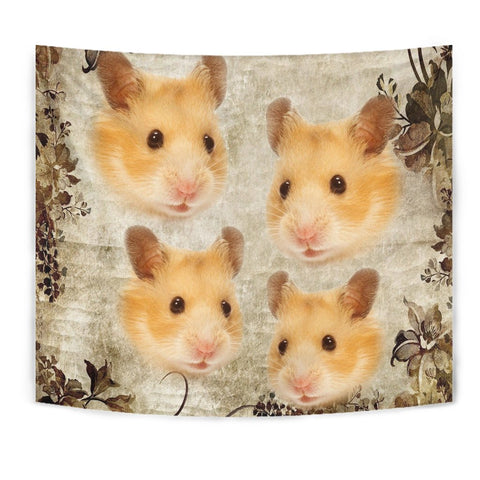 Amazing Golden Hamster Print Tapestry