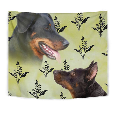 Beauceron Dog Print Tapestry