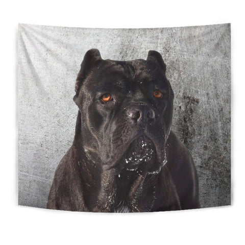 Cane Corso Dog Print Tapestry