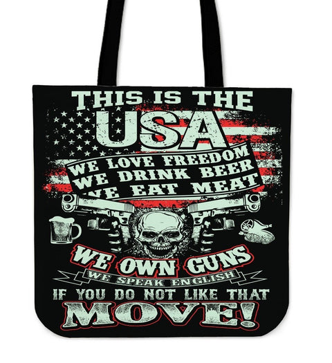 This Is The USA Tote Bag