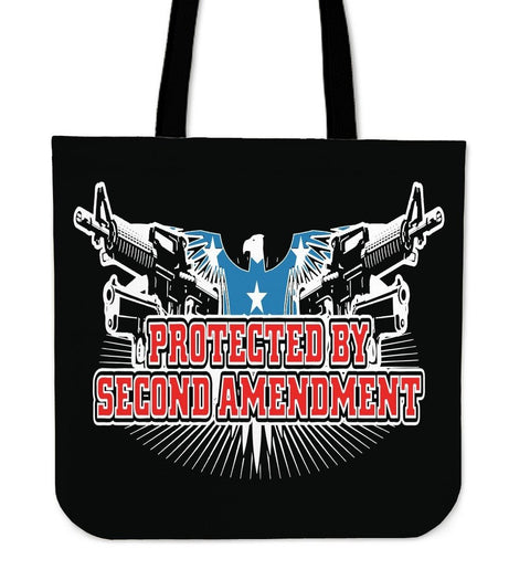 Protected By Second AmendmentTote Bag