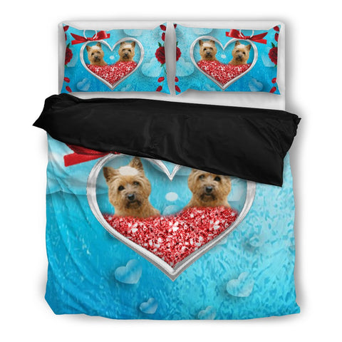 Valentine's Day SpecialCairn Terrier Print Bedding Set