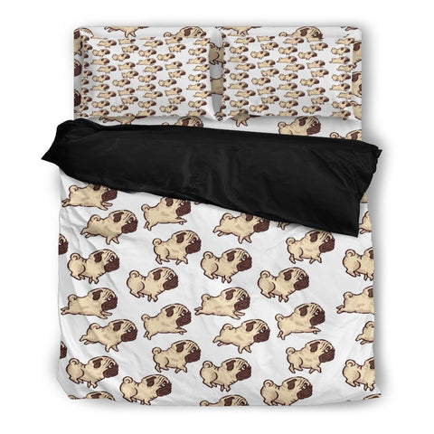 Pug Print Bedding Set 1
