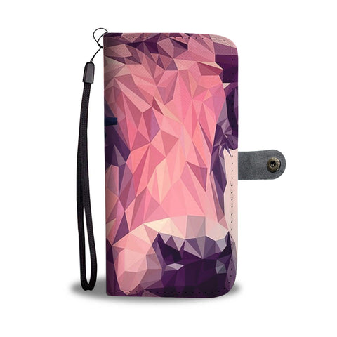 Amazing Cattle Vector Art Print Wallet Case