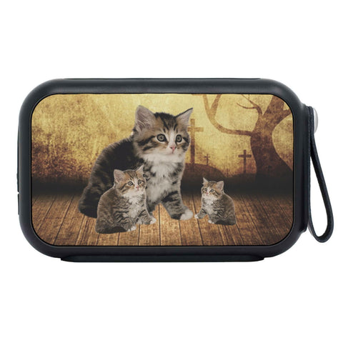 Siberian Cat Print Bluetooth Speaker