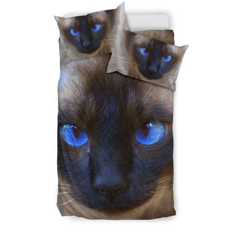 Siamese cat Print Bedding Set