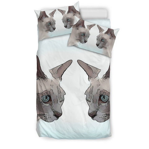 Amazing Tonkinese cat Print Bedding Set