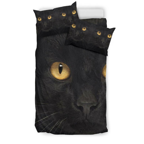 Bombay Cat Print Bedding Set