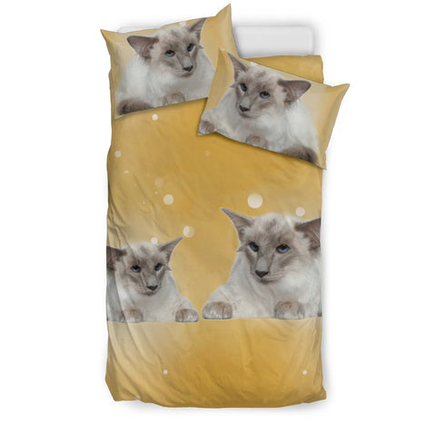 Balinese cat Print Bedding Set