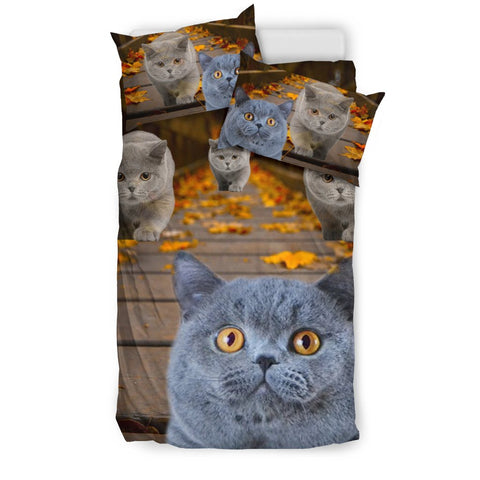 Amazing British Shorthair Cat Print Bedding Set