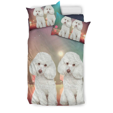 Poodle Dog Print Bedding Sets