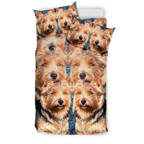 Amazing Norwich Terrier Dog Print Bedding Set