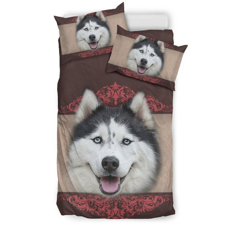 Amazing Siberian Husky Dog Print Bedding Sets