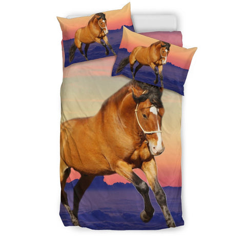 Amazing Belgian horse Morning Print Bedding Sets