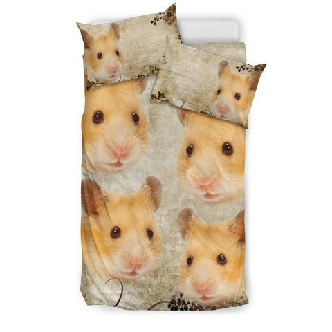 Amazing Golden Hamster Print Bedding Sets