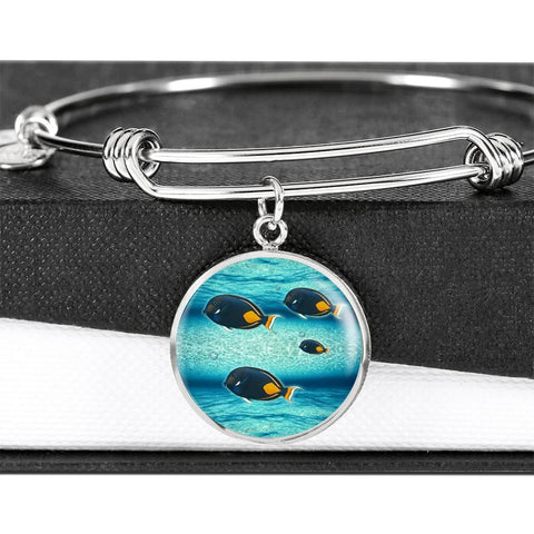Achilles Tang Fish Print Luxury Bangle