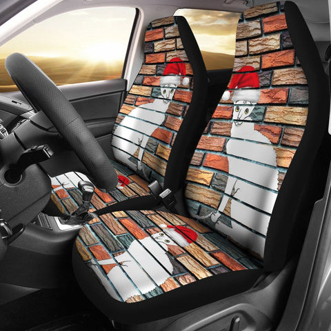 Cornish Rex Cat Print Car Seat Covers