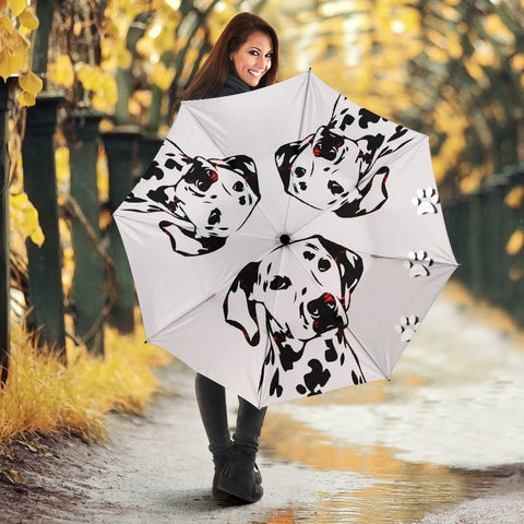 Dalmatian Dog Art Print Umbrellas