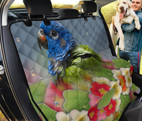 Pionus Parrot Print Pet Seat Covers