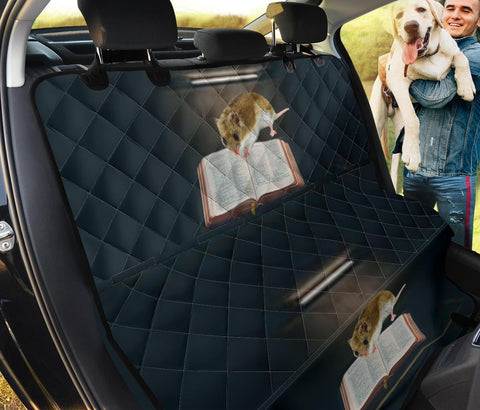 Chinese Hamster Studding Print Pet Seat Covers