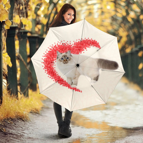 Birman Cat Print Umbrellas