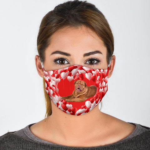 Bordeaux Mastiff Print Face Mask