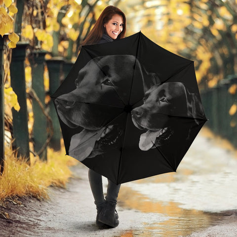 Black Labrador Print Umbrellas-Limited Edition