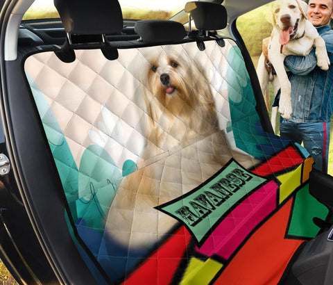 Havanese dog Print Pet Seat covers