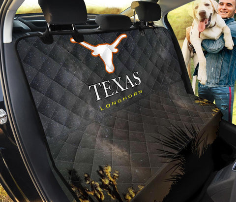 Texas Longhorn Cattle (Cow) Print Pet Seat Covers