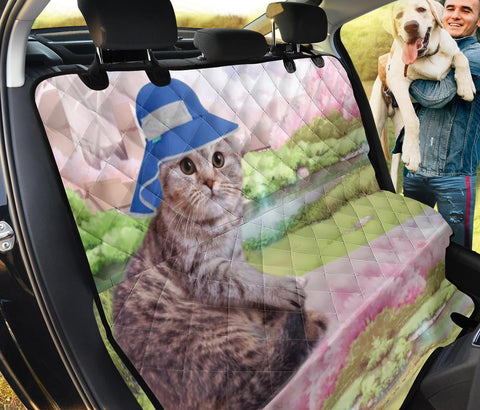 Scottish Fold Cat Print Pet Seat Covers