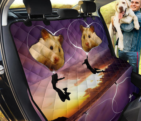 Syrian Hamster Print Pet Seat Covers