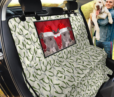 Italian Greyhound Print Pet Seat Covers