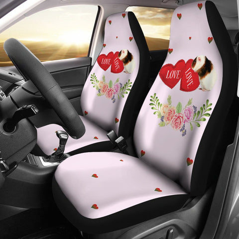 Teddy Guinea Pig Print Car Seat Covers