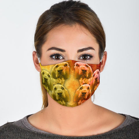 Bloodhound Print Face Mask