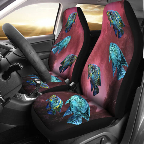 Jack Dempsey Fish Print Car Seat Covers