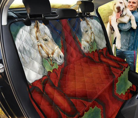 Belgian Horse Print Pet Seat Covers