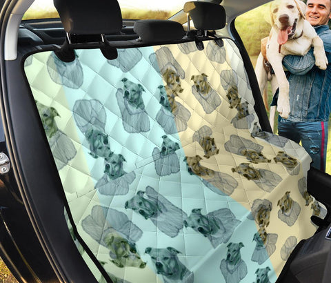 American Staffordshire Terrier Print Pet Seat Covers