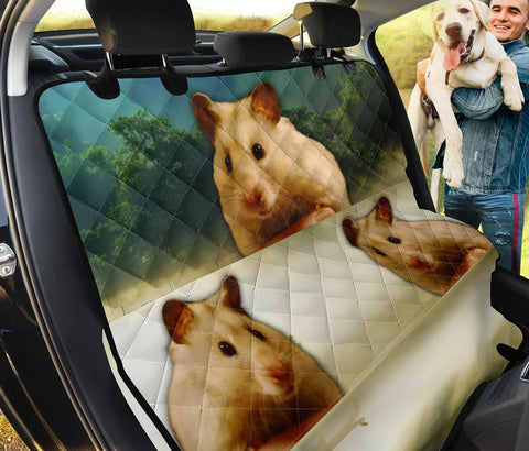 Amazing Golden Hamster Print Pet Seat Covers